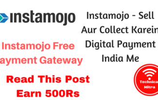 Instamojo – Sell Aur Collect Karein Digital Payment India Me