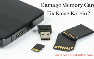 Damage Memory Card Fix Kaise Karein?