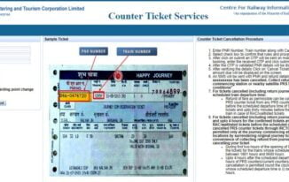 Ab Railway Counter Ticket Cancellation Online Karein